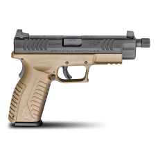 XD(M)® 4.5″ Full Size 9mm – Threaded Barrel, FDE